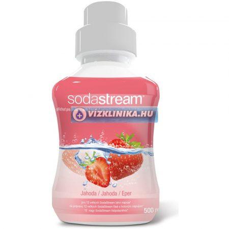 Eper szörp, 500 ml, SodaStream