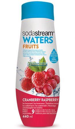 WATERS FRUITS Vörösáfonya/Málna szörp 440 ml (fruktózzal)