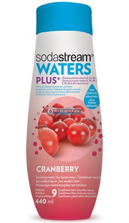 WATERS PLUS Vörösáfonya szörp 440 ml