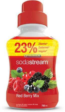 Red Berry - Erdei gyümölcs szörp 750 ml