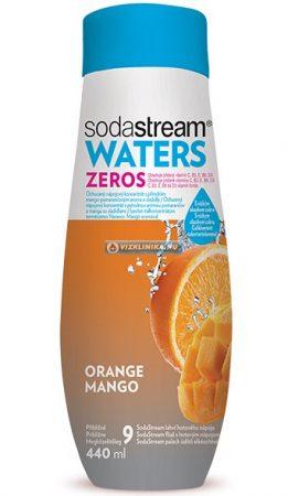 WATERS ZEROS Narancs/Mangó szörp 440 ml