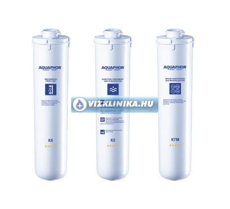 Aquaphor Morion OZMO RO-101S  fordított ozmózis víztisztító szűrőkészlet