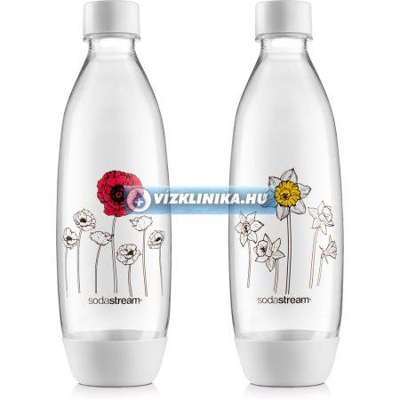 SodaStream szénsavasító palack, 2 darab, mintás, Spirit, Play és Source szódagéphez
