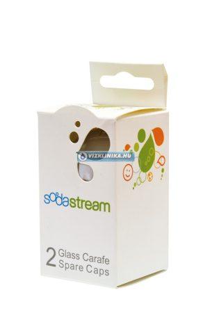 Szürke kupak üvegpalackhoz (2 db)
