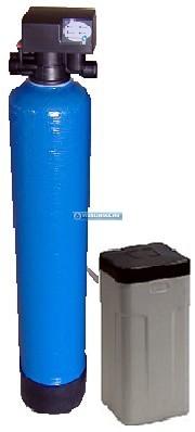EconomySoft 40 FLM mobil rendszerfeltöltő vízlágyító kézi indítású regenerálással, sóoldó tartállyal