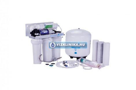 Economy Water RO-Traditional nyomásfokozóval, 5 lépcsős fordított ozmózis rendszerű víztisztító
