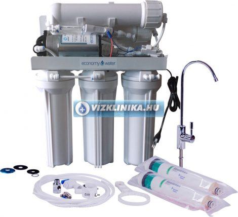 Economy Water RO-Traditional 360GPD+ átfolyós, tartály nélküli fordított ozmózisos víztisztító