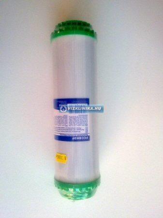 Szűrő betét aktívszén granulátum + 5% KDF töltettel (Aquafilter)