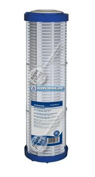 """Mosható szűrőbetét, 10x2,5"""" méret, műanyag hálós, Aquafilter"""