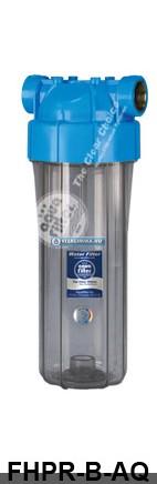 """10""""-os áttetsző szűrőház, Aquafilter (EU), max. 10 bar"""