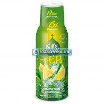 FruttaMax Bubble12 Citromos zöld tea ízű szörp