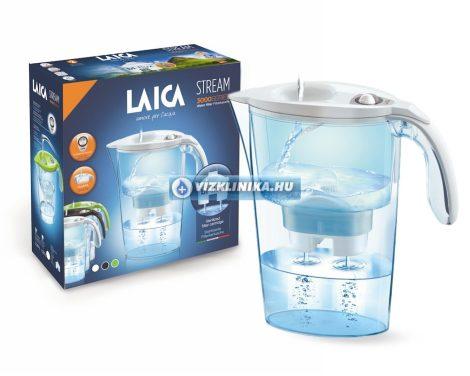 LAICA Stream mechanical vízszűrő kancsó 2,3 literes