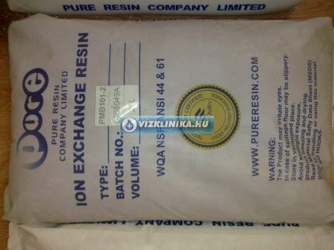 Kevert ágyas, kation- és anion cserélő, vízlágyító, szilikát szűrő gyanta, 1 zsák=25 literes kiszerelés