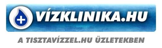 Személyes átvétel az üzletünkben, Tisztavízzel.hu Zugló