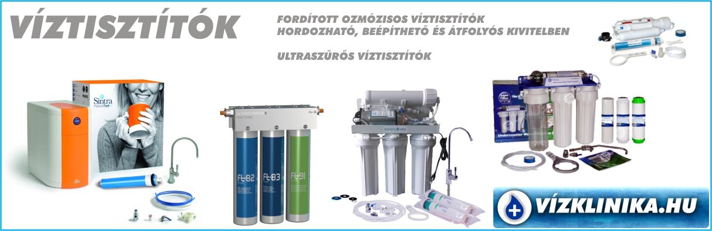 Vízklinika.hu Víztisztító berendezések